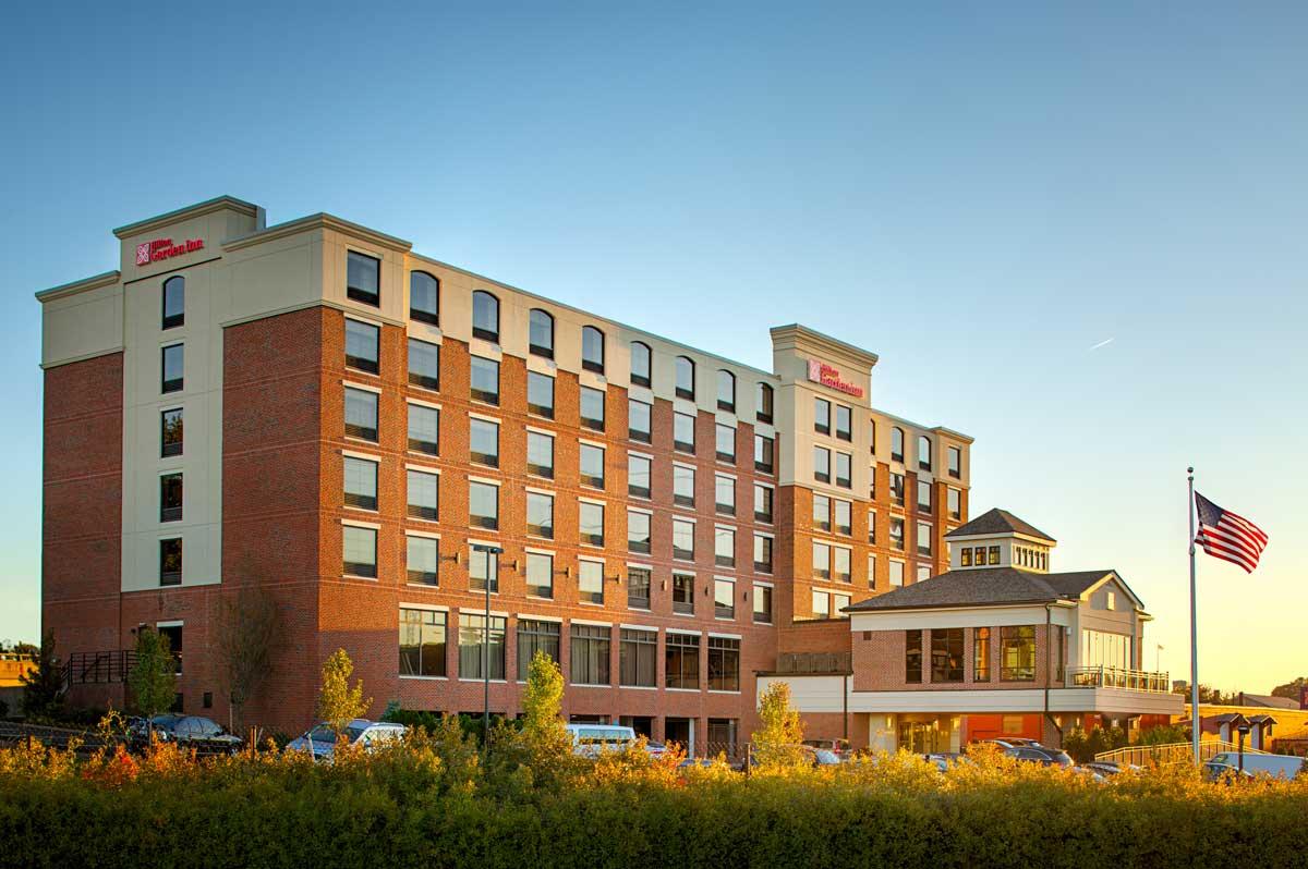 Hilton Garden Innprovidence Ri Vision 3 Architects