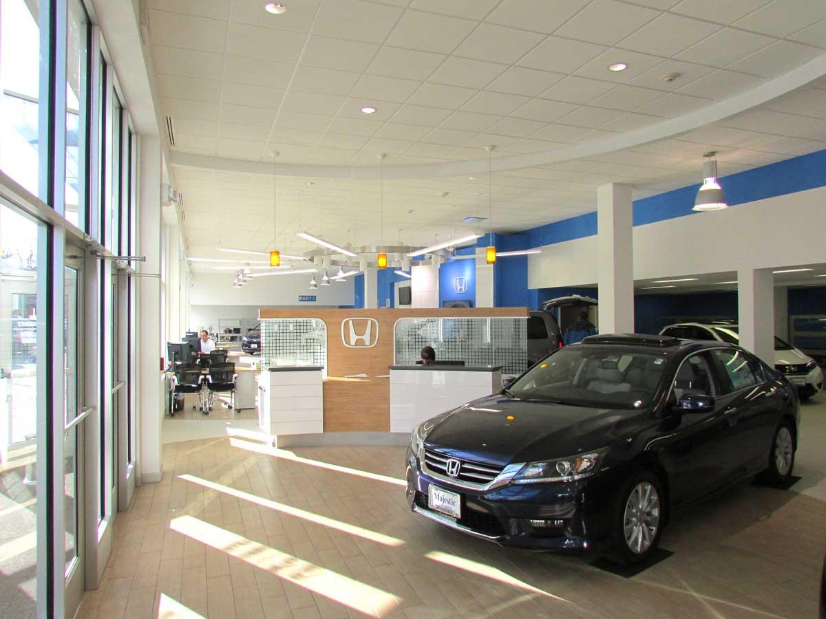 Majestic HondaWest Warwick, RI – VISION 3 ARCHITECTS
