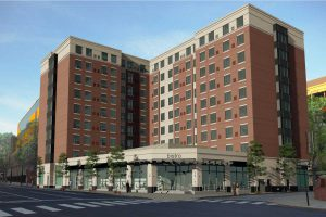 rendering residence inn marriott providence