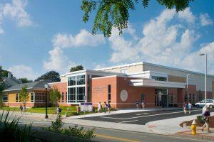 Saint Raphael Academy Alumni Hall Athletic Wellness Center exterior