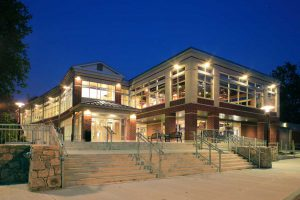 uri university of rhode island hope commons dining hall building exterior LEED silver certified