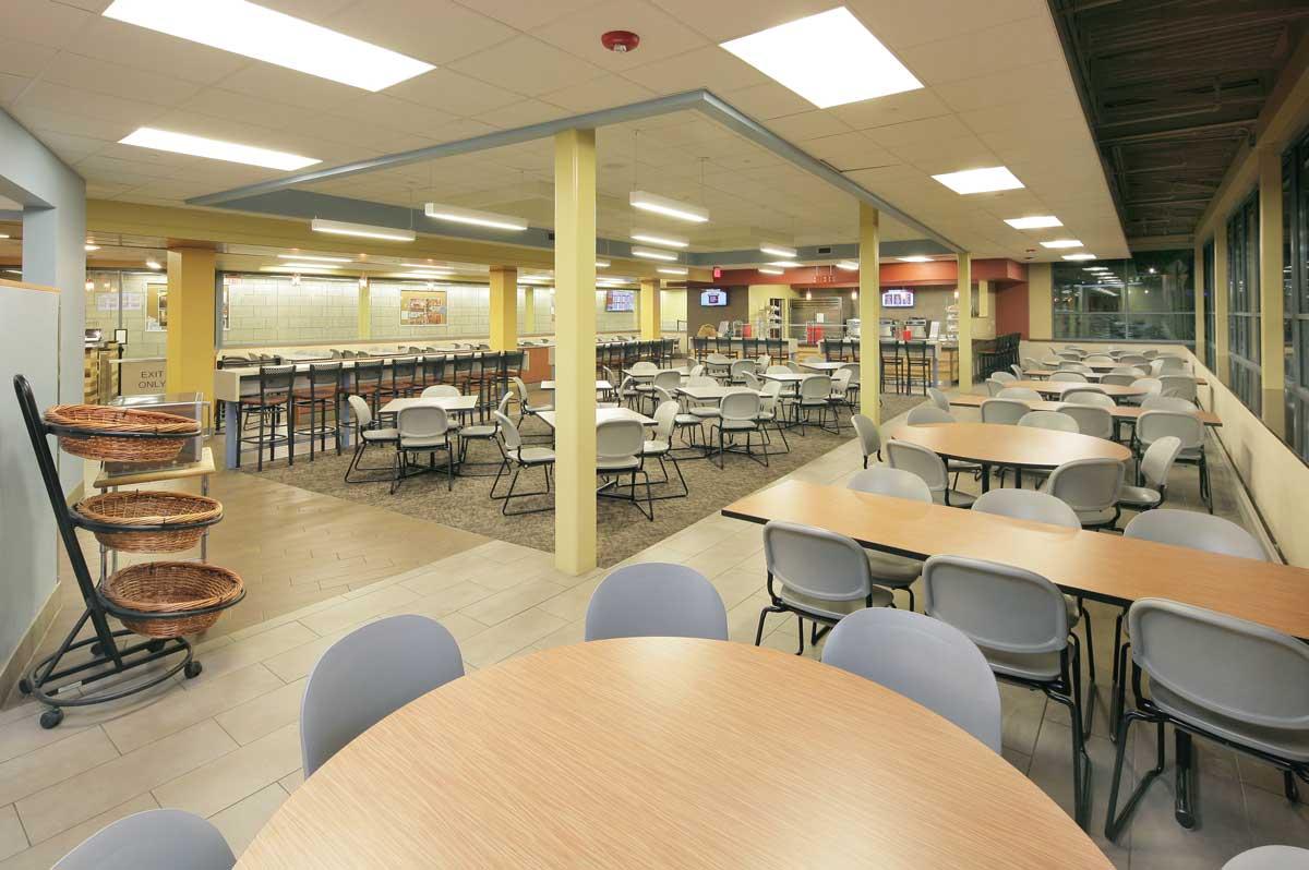 University Of Rhode Islandbutterfield Dining Hallkingston Ri Vision 3 Architects